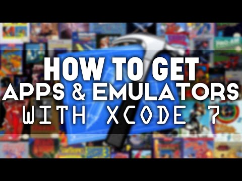 Xcode 7: How to Sideload APPS & EMULATORS on your iOS Device! (NO JAILBREAK) iPhone iPad iPod Touch