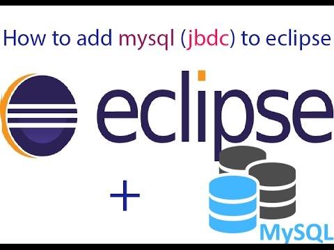 How to add mysql jdbc to eclipse