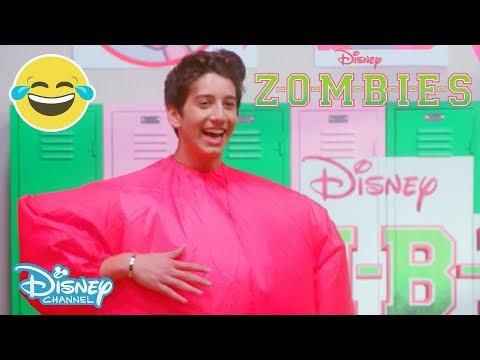 Z-O-M-B-I-E-S | Air Suit Dance Off Challenge 💃 | Official Disney Channel UK