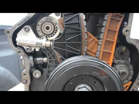 Failed timing chain tensioner Volkswagen CC EOS GTI 2.0 TSI