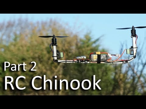 RC Chinook Bicopter - Part 2
