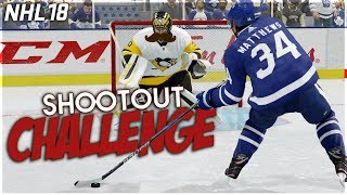NHL 18 SHOOTOUT CHALLENGE #5 *MOVEMBER EDITION*