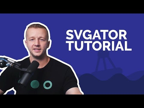 Animating SVG's for Web Design with SVGator Tutorial