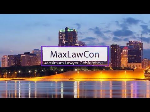 MaxLawCon 2018 Announcement
