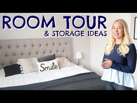 BEDROOM TOUR & BEDROOM STORAGE IDEAS AD