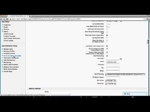Salesforce.com - Setup User Signature Template for your Organization