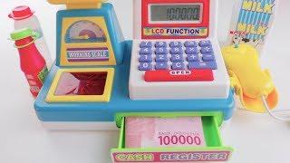 Mainan Kasir Kasiran Pakai Uang Beneran #2 - Electronic Cash Register Using Real Money
