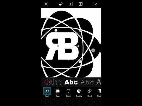 How to logo design picsArt tutorial 2 (ROBOT)