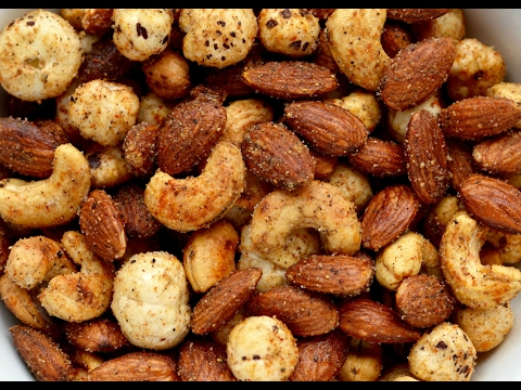 Quick Healthy Spicy Masala mixed nuts | How to Make Quick & Easy Masala Nuts