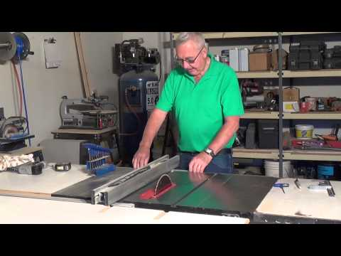 How To Set Up Your Table Saw For Accuracy