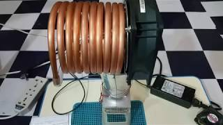 How to make Cooling Fan | Home made Air Cooling System with heat sink and TECH 12706 12v 6Amp