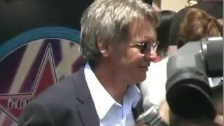 Harrison Ford Walk of Fame May 2003