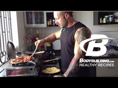 Healthy Recipes: Quick & Easy Spaghetti Bolognese