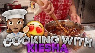 Cooking With Keisha (FOOD WAS SO GOOD)