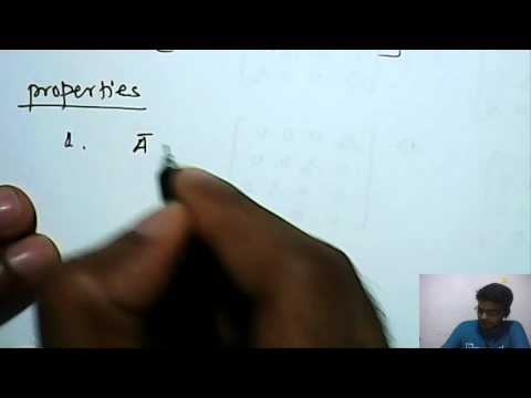 Mathematics: Conjugate of Matrix