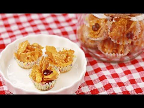 Honey Cornflakes - Chinese New Year - Recipe By ZaTaYaYummy