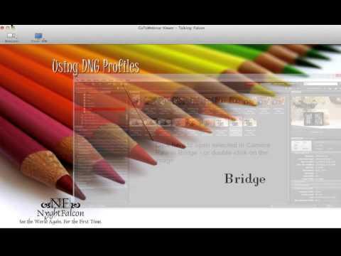 Using Camera Calibration Software for Creating Custom Camera Profiles