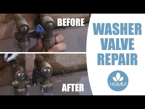 Quick and Easy Washer Valve Replacement