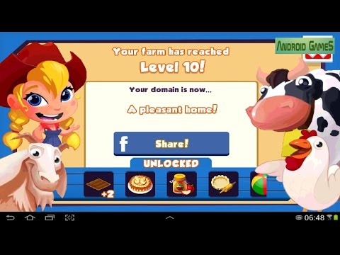 Green Farm 3 Level 10 HD 720p