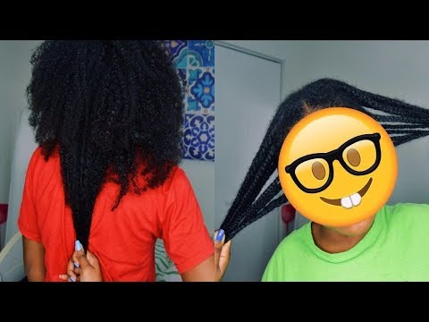 How I Maintain My Natural Hair Under Wigs | Healthy Hair Growth