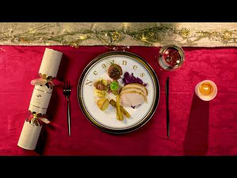 Plating up for Christmas… How to make your dinner look as good as it tastes