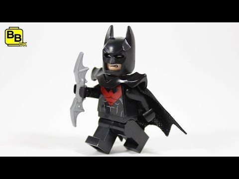 LEGO BATMAN MOVIE NIGHT TERROR BATSUIT MINIFIGURE CREATION