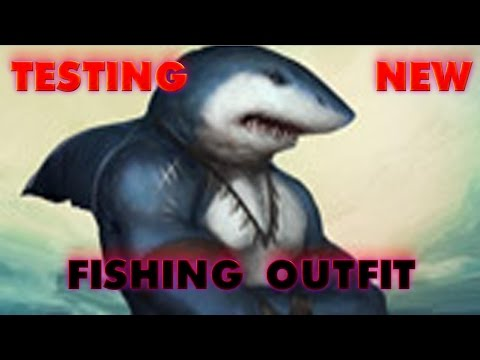 New Fury Shark Outfit - Trying Out Xp Rates