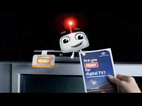 Australia is switching to digital TV - Advert 2009