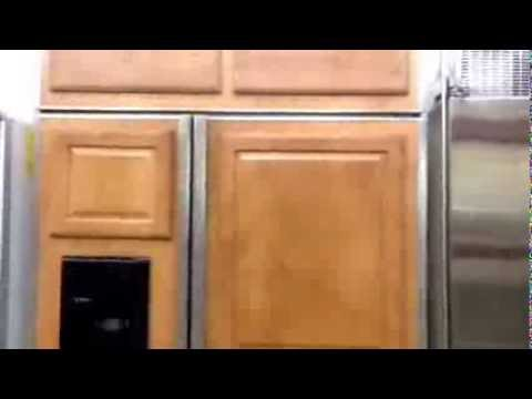 GE monogram 48 inch custom panel refrigerator