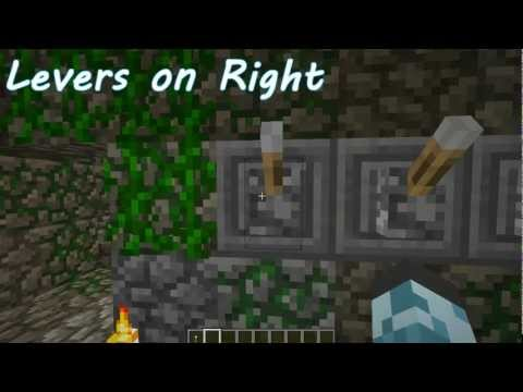 How to Solve the Lever Puzzle in Jungle Temples (Minecraft 1.3)