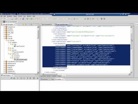 Creating a Web Service Provider