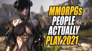 THE 10 MOST PLAYED MMORPGS IN 2021 - The Best MMOs to Start RIGHT NOW in 2021!