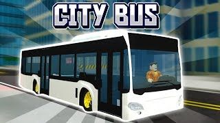 THE *NEW* CITY BUS JOB IS AWESOME! (MASSIVE Vehicle Simulator UPDATE!)