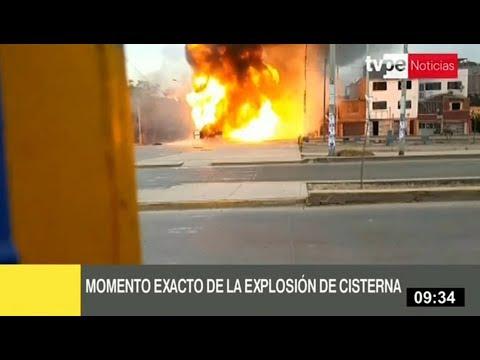 Xxx Mp4 Incendio En Villa El Salvador Video Muestra El Inicio De La Explosión 3gp Sex