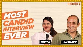 Akshaye Khanna & Richa Chadha Most Candid Interview I Section 375 Cast I SHOWSHA