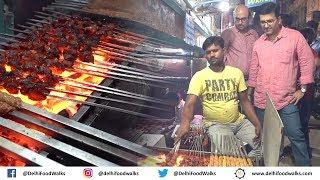 Zakir Nagar Food Walk   RAMZAN Special - Nahari + Butter Chicken Tikka + Kebab + Daleem Biryani
