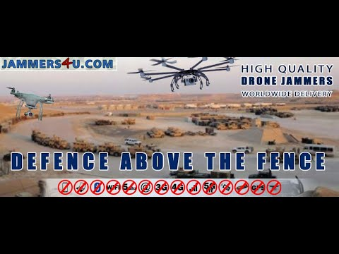 Drone Jammer CT-4035 UAV vs Phantom 3 advance