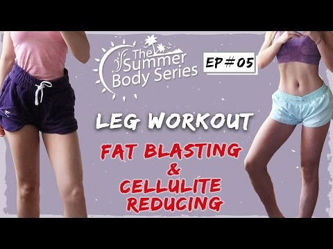 Intense Leg Workout | Fat Burning + Cellulite Reducing Routine