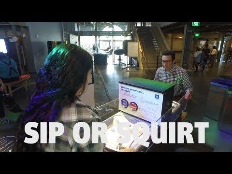 Exploratorium Exhibits | Sip or Squirt | Aka: Trust Fountain