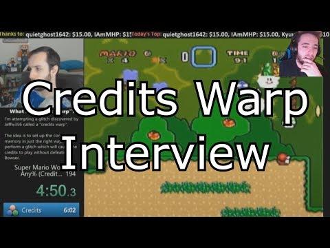 Interview: SMW Credits Warp with MitchFlowerPower