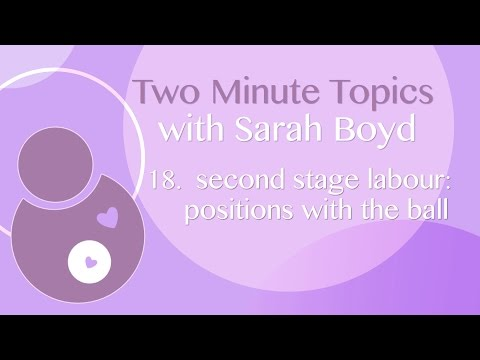 18 -  Second Stage of Labour:  Positions with the ball