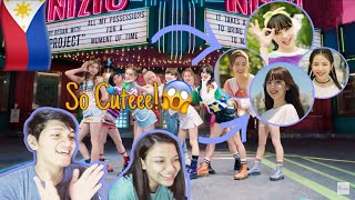 (PH) FILIPINO REACTS TO NiziU -『Make you happy』M/V [PRE-DEBUT]