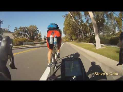 Road Cycling in California - Orange County Revisited - GoPro HD