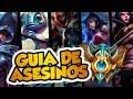 ¡LA GUÍA DEFINITIVA DE ASESINOS EN LEAGUE OF LEGENDS! | LO QUE NO TE CUENTAN | CAPÍTULO 1