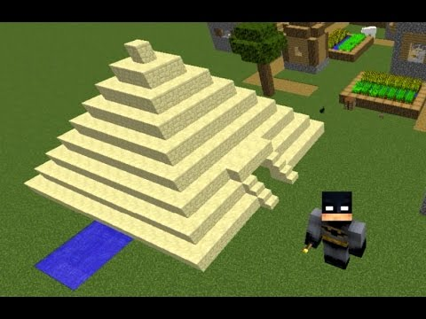 Minecraft, How To Make An Ancient Egyptian Pyramid, by MCEQ