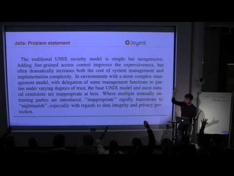 Bryan Cantrill on Jails and Solaris Zones