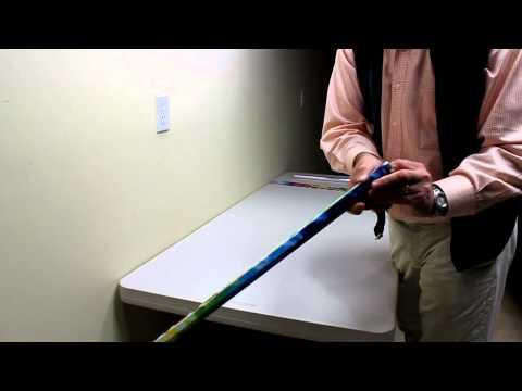 RapStix Lacrosse Stick-N-Wrap application video