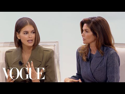 Kaia Gerber & Cindy Crawford on Their Careers, Social Media and the Modeling Industry | Vogue