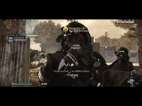 Call of Duty® Ghosts Ghost Vs Maniac Knife Only Gameplay