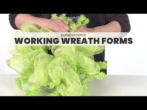 Working Wreath Forms